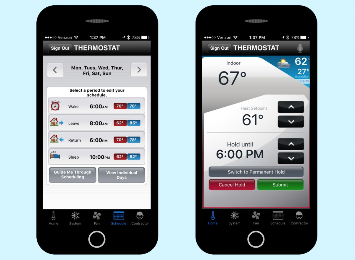 Honeywell RTH8580WF Wi-Fi Thermostat review