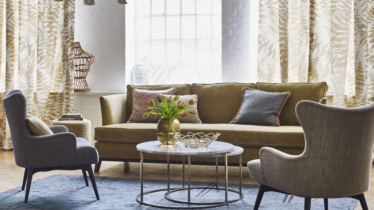 15 fresh living room curtain design ideas | Real Homes on Living Room Curtains Ideas  id=99940
