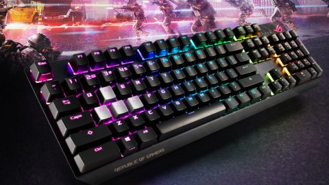 Rog Strix Scope Gaming Keyboard Review Pc Gamer