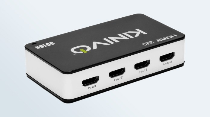 Cheap HDMI Switchers: Kinivo 301BN
