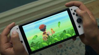 Press image of the Nintendo Switch OLED