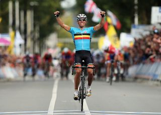 Gilbert takes the win at Valkenburg 2012