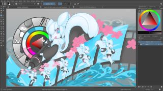 Krita - free graphic design software