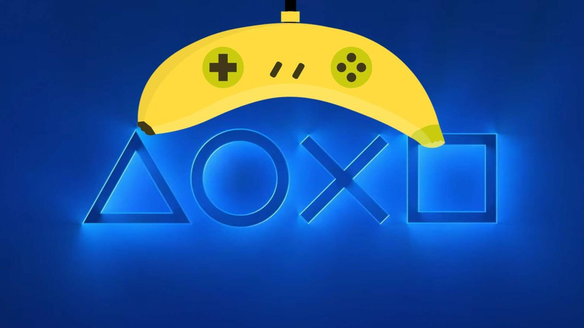A Sony patent could replace your PS5 controller with a banana