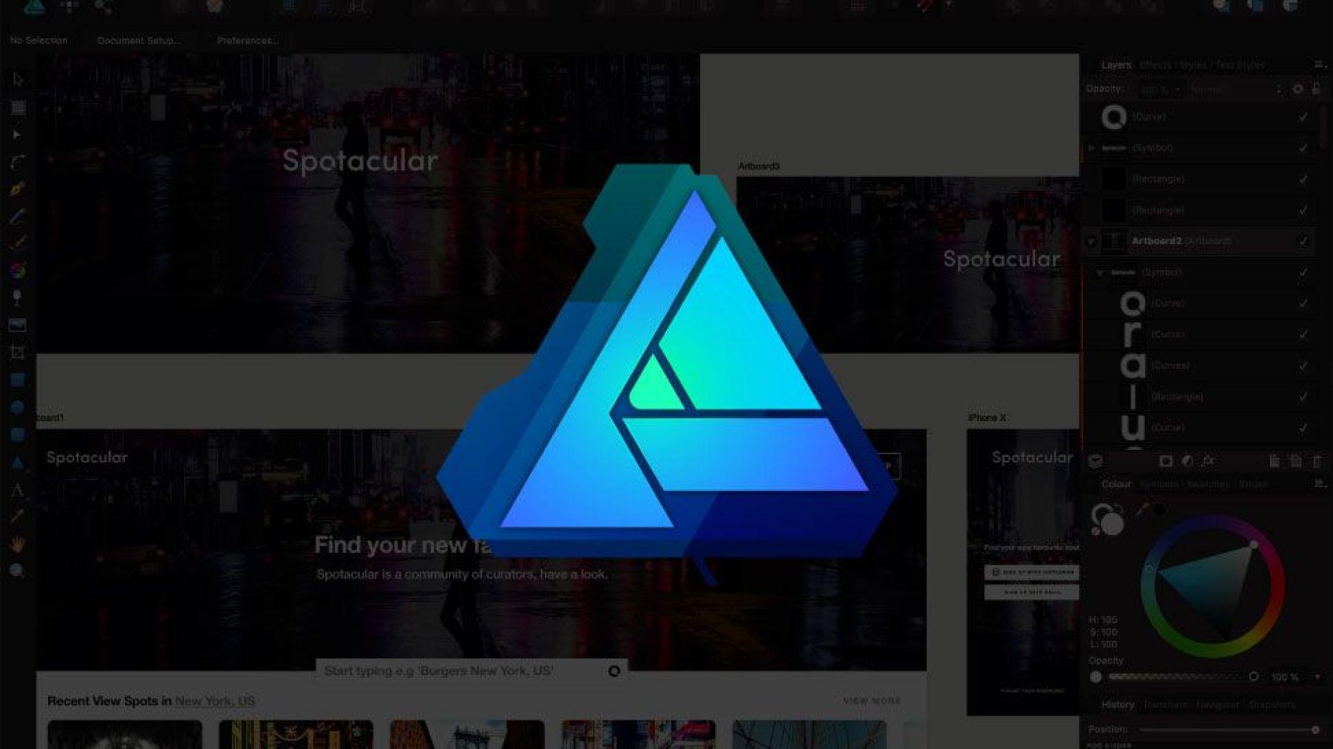 Affinity Designer video tutorial: Get started with Symbols
