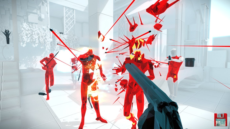 best Oculus quest 2 games: SuperhotVR
