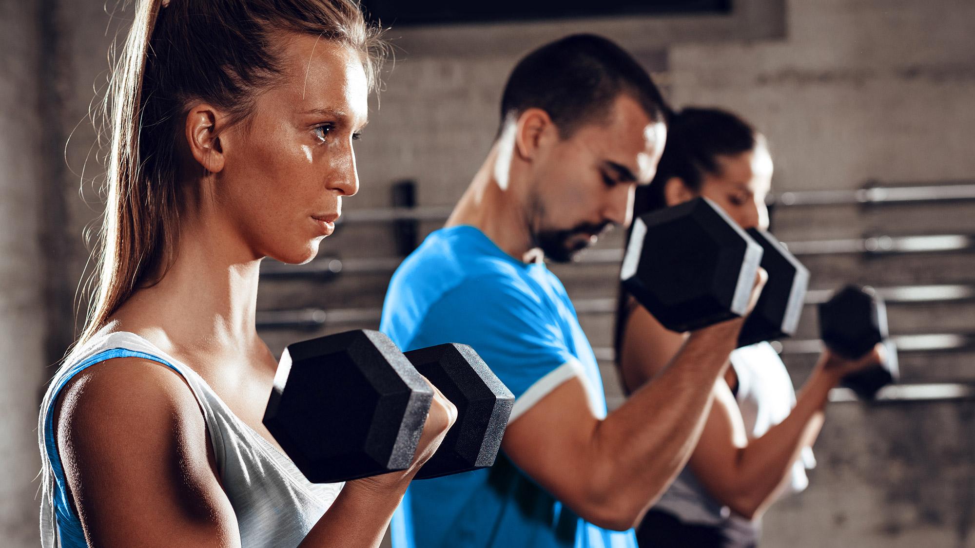 Best home gym equipment: CAP Barbell Coated Hex Dumbbells