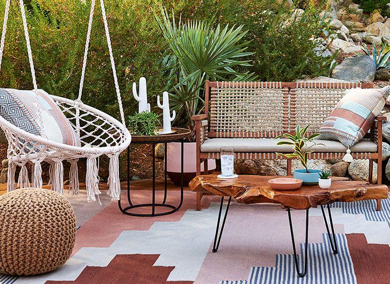 this walmart patio furniture is a boho