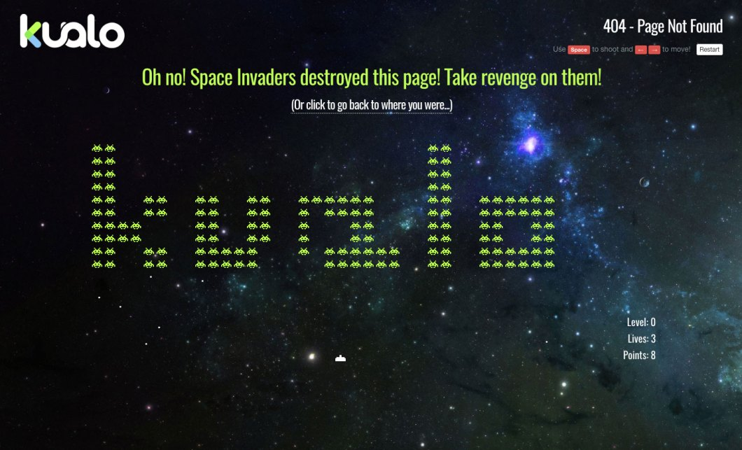 kualo 404 page