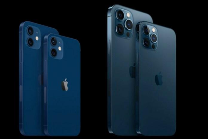 iPhone 12 vs mini vs Pro vs Pro Max size