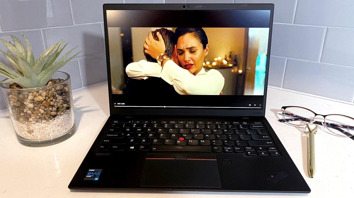 Lenovo ThinkPad X1 Nano review: Display