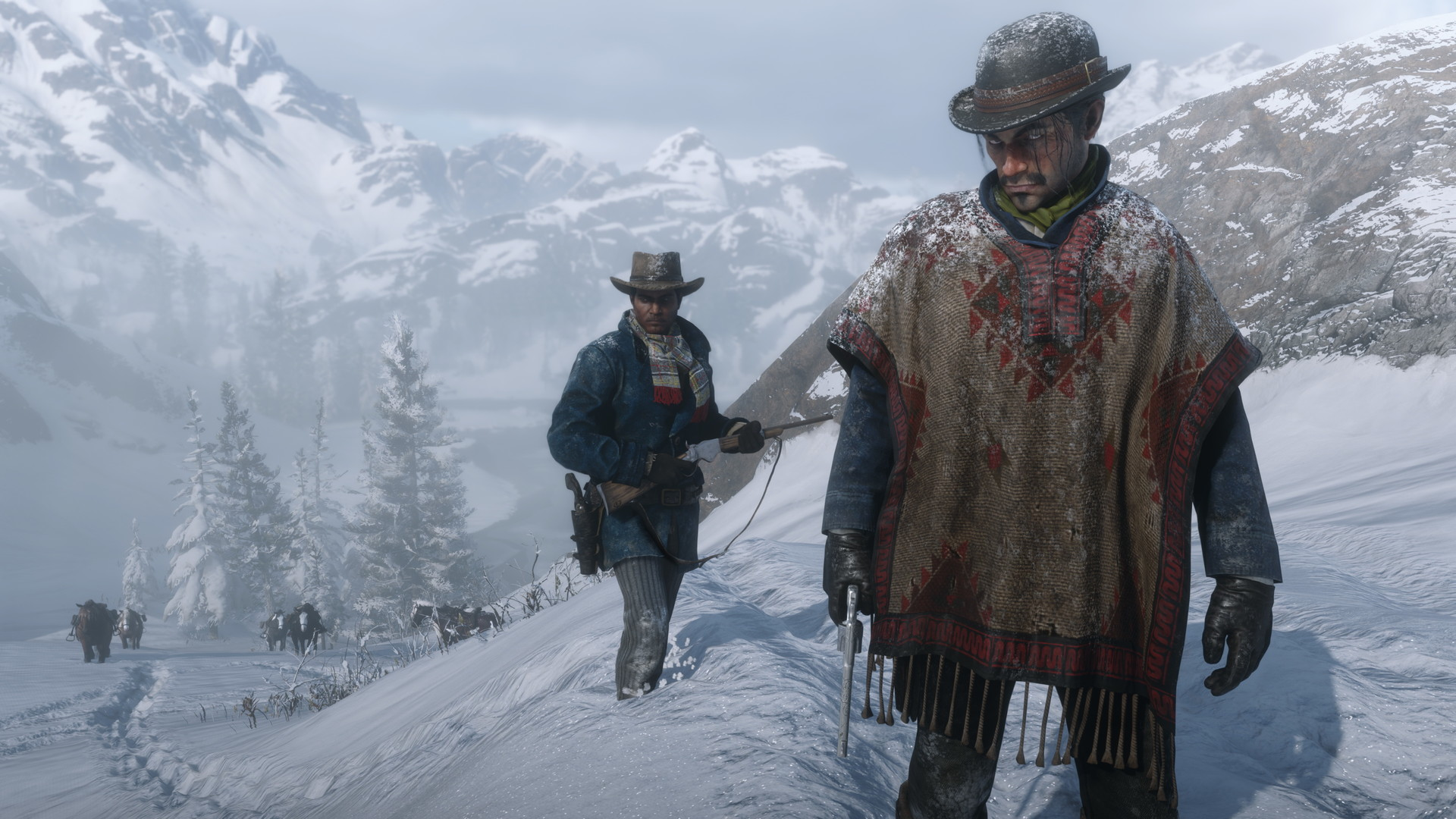 Red Dead Redemption 2 is an engrossing western.
