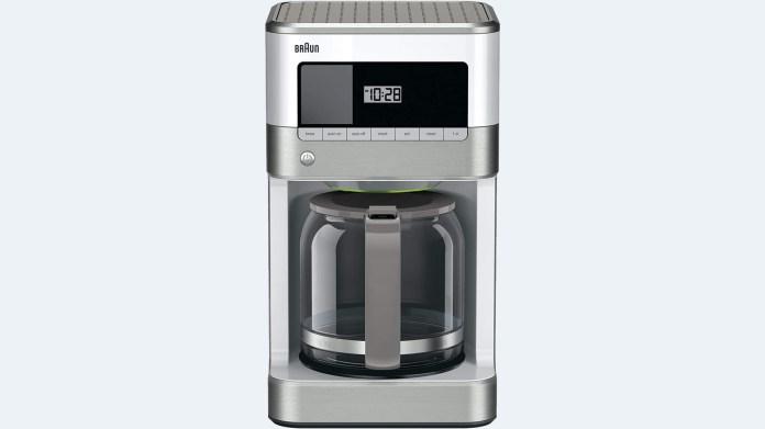 best coffee makers braun brew sense
