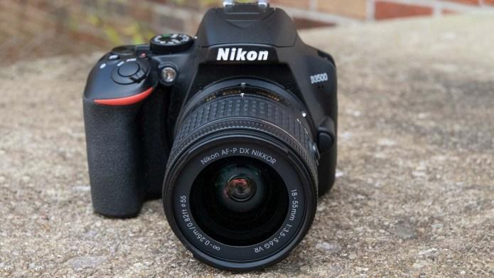 Best DSLR cameras: Nikon D3500