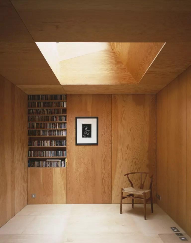 Jonathan Tuckey modern rustic living room ideas