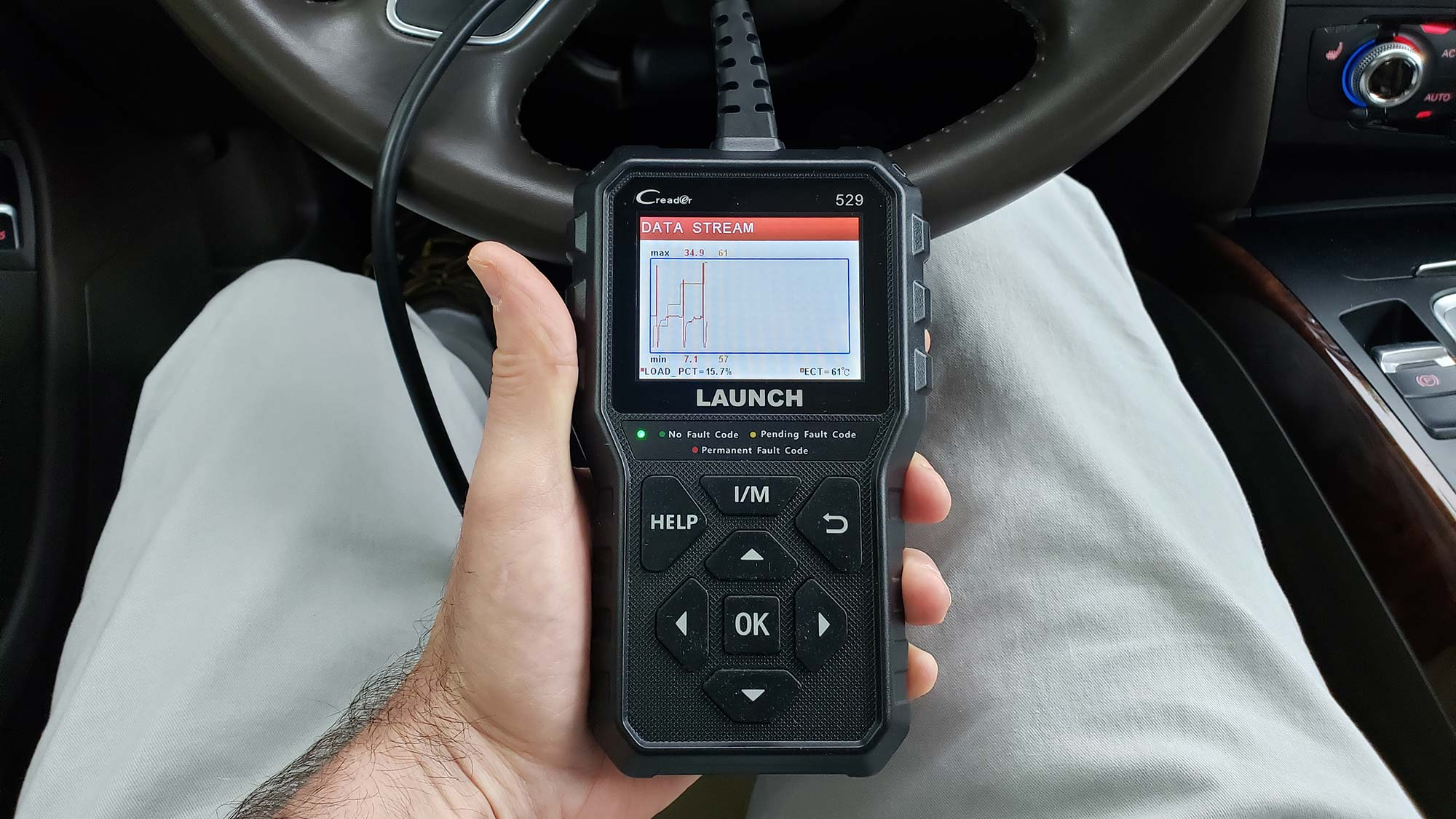 Best OBD2 scanners: Launch CR529 OBD2 Scanner