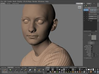 Create a lifelike digital human: Modelling