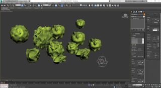 Create clouds with FumeFX: Make FumeFx object source