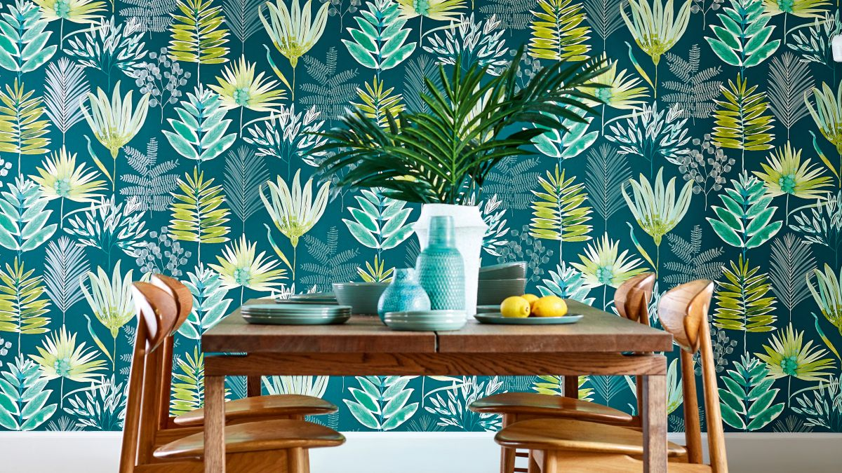 18 Beautiful Botanical Wallpaper Ideas Real Homes