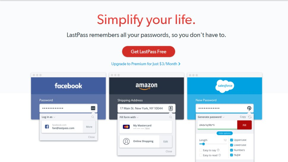 LastPass - Our pick of the best password managers