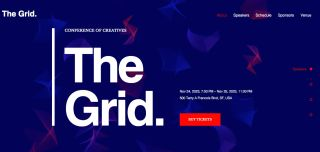 the Grid template