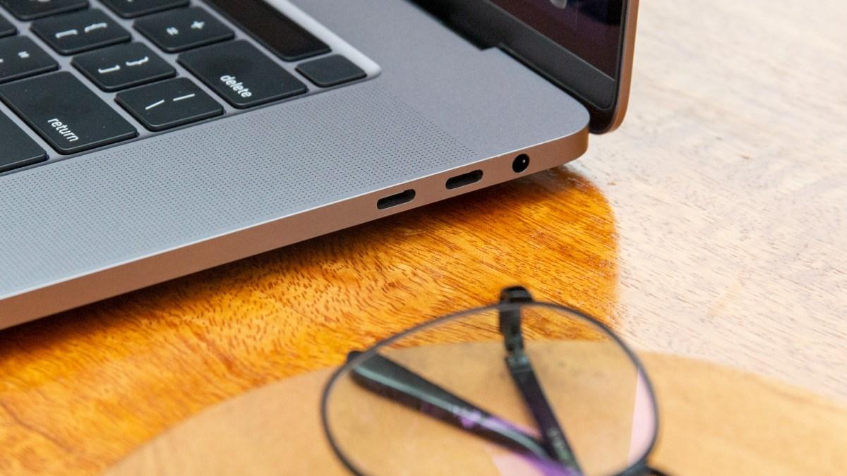 16-inch MacBook Pro speakers