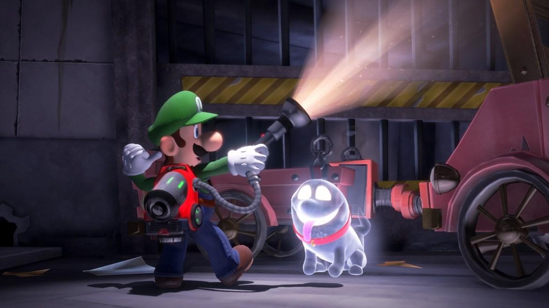 best Nintendo Switch games: Luigi's Mansion 3