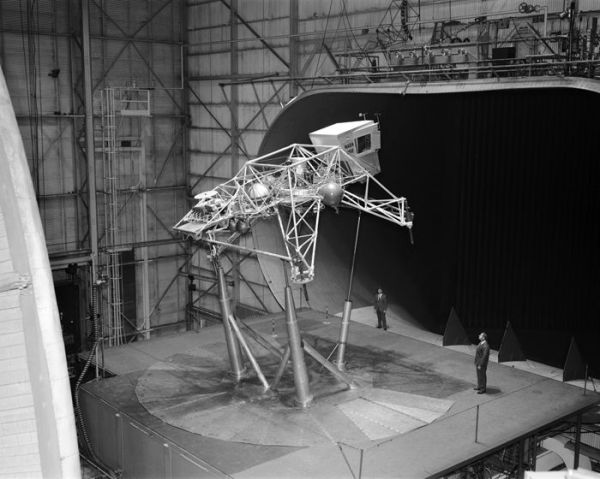 Space History Photo: Bell Lunar Landing Training Vehicle ...