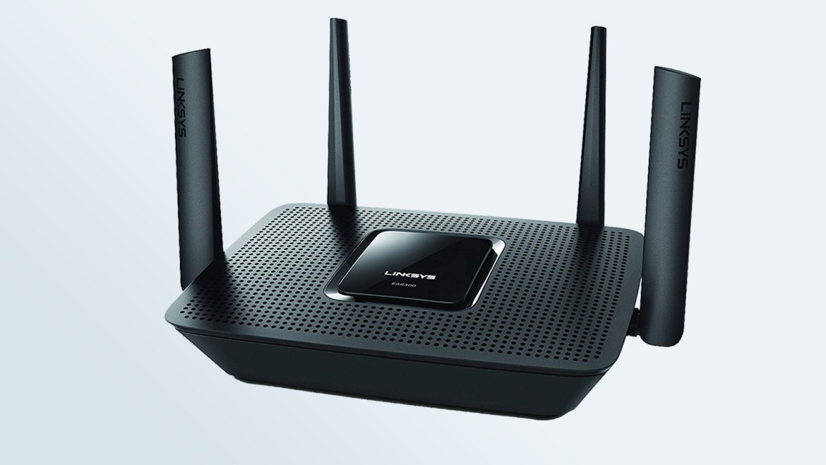 Best Wi-Fi routers: Linksys EA8300 Max Stream