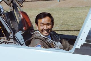 Ellison Onizuka, the first Asian American to fly in space.