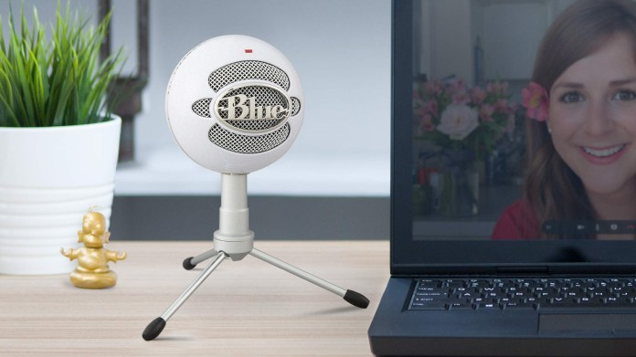 The best cheap gaming microphone: Blue Snowball Ice