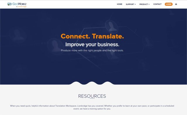 Geoworkz - Translations for freelancers through to enterprises