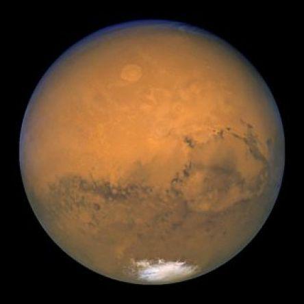 Sao Hỏa ở điểm gần Trái đất nhất vào năm 2003