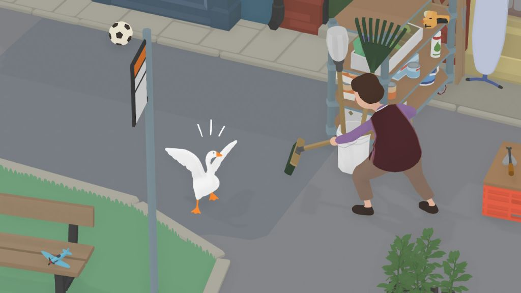 best Nintendo Switch games: untitled goose game