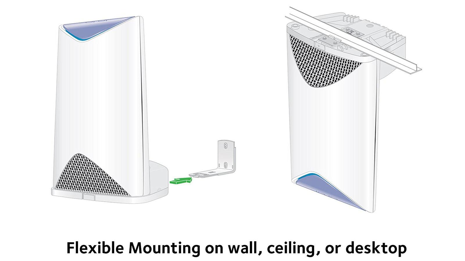 Netgear Orbi Pro mounting