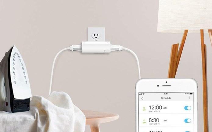 best smart plugs: TP-Link Kasa Smart Wi-Fi Plug, 2-Outlets (HS107)