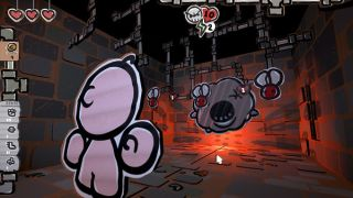 A puzzle based deck building rogue-like prequel to The Binding of Isaac... Made of cardboard!