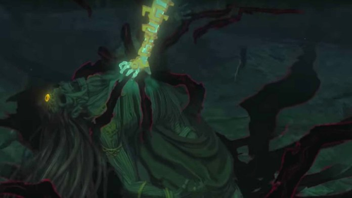 Breath of the Wild 2 trailer screenshot showing a Gerudo corpse