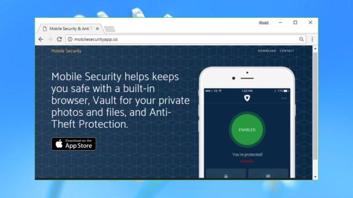 Mobile Security & Anti-Theft Protection