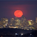 No The Super Pink Moon Isn T Really Pink Though We Wish It Was Space