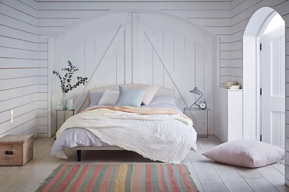 timber wall cladding bedroom