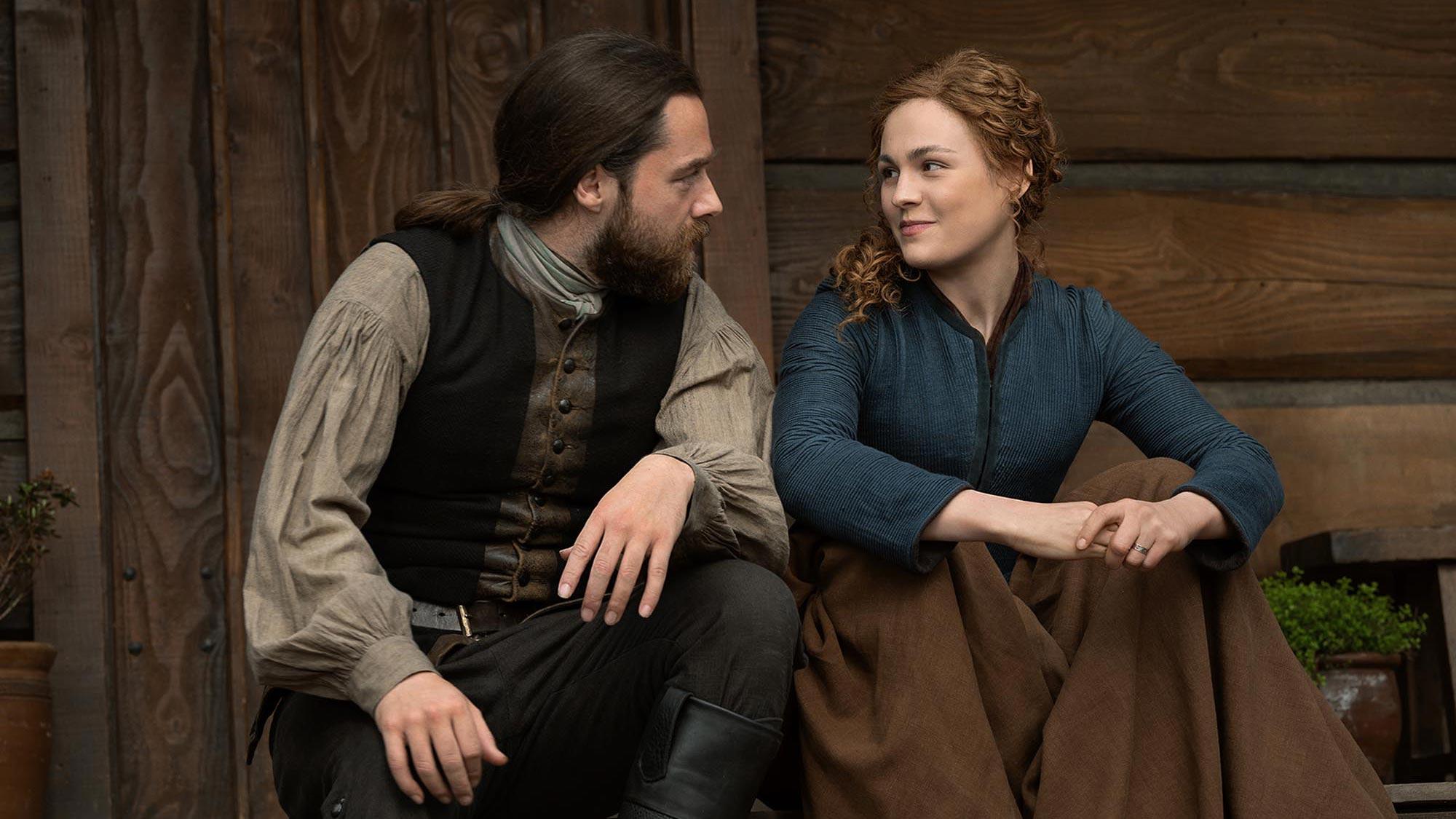 Outlander season 6: Roger and Brianna