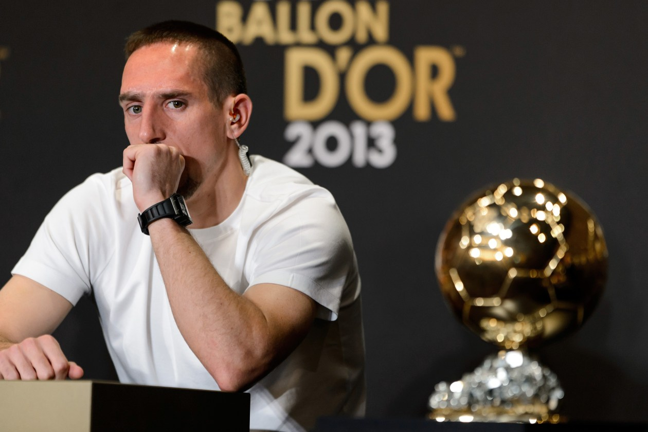 Ribery: So many politics in Ballon d'Or voting | FourFourTwo