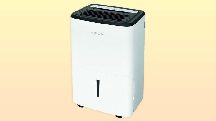The Frigidaire FFAP5033W1 dehumidifier. best dehumidifiers