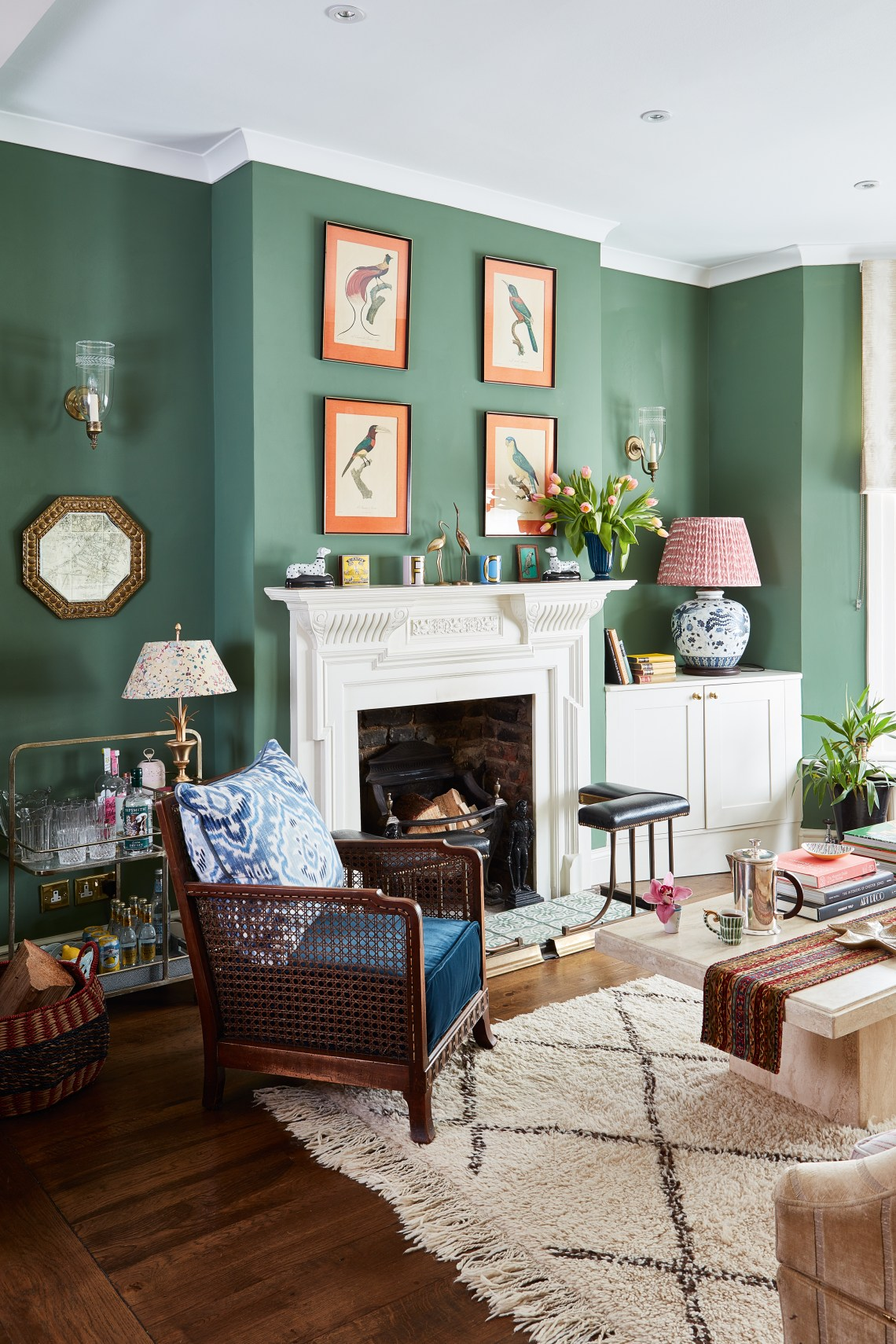 25 Green Living Room Ideas That Are The Perfect Spring Refresh Real Homes