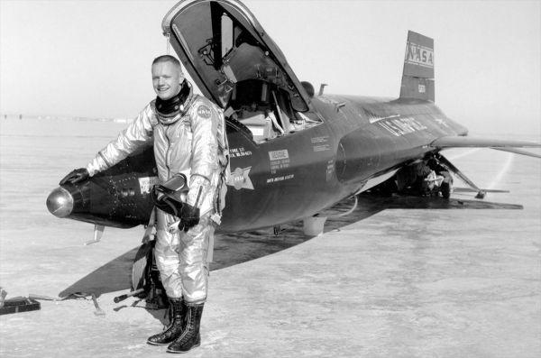 X15 Rocket Plane Crew Had the Right Stuff Space