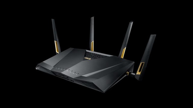 The Asus RT-AX88U, a Wi-Fi 6 router