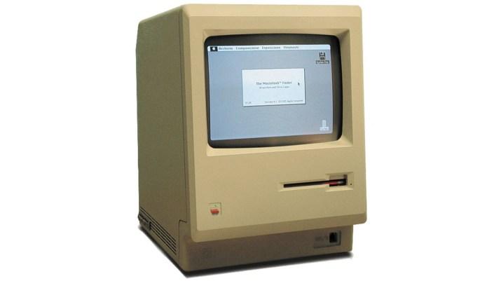 Image of Apple Macintosh computer