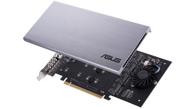 SFeVhEmPrqGMw6YX8oxen8 Fed up of limited M.2 slots in your PC? Try Hyper M.2 x16 Riser Card by ASUS