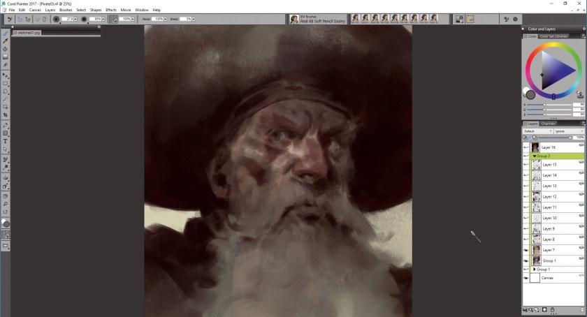 SGd62ZZoPU9W8BD65Byayh Create portrait art in Corel Painter Random
